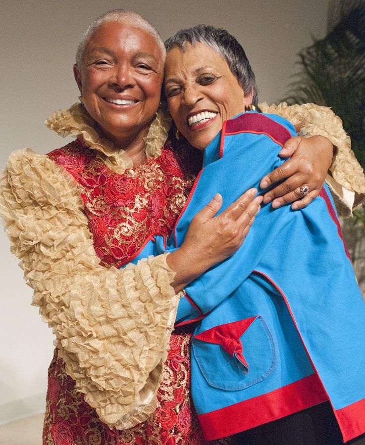 Camilla Cosby with Johnnetta B. Cole