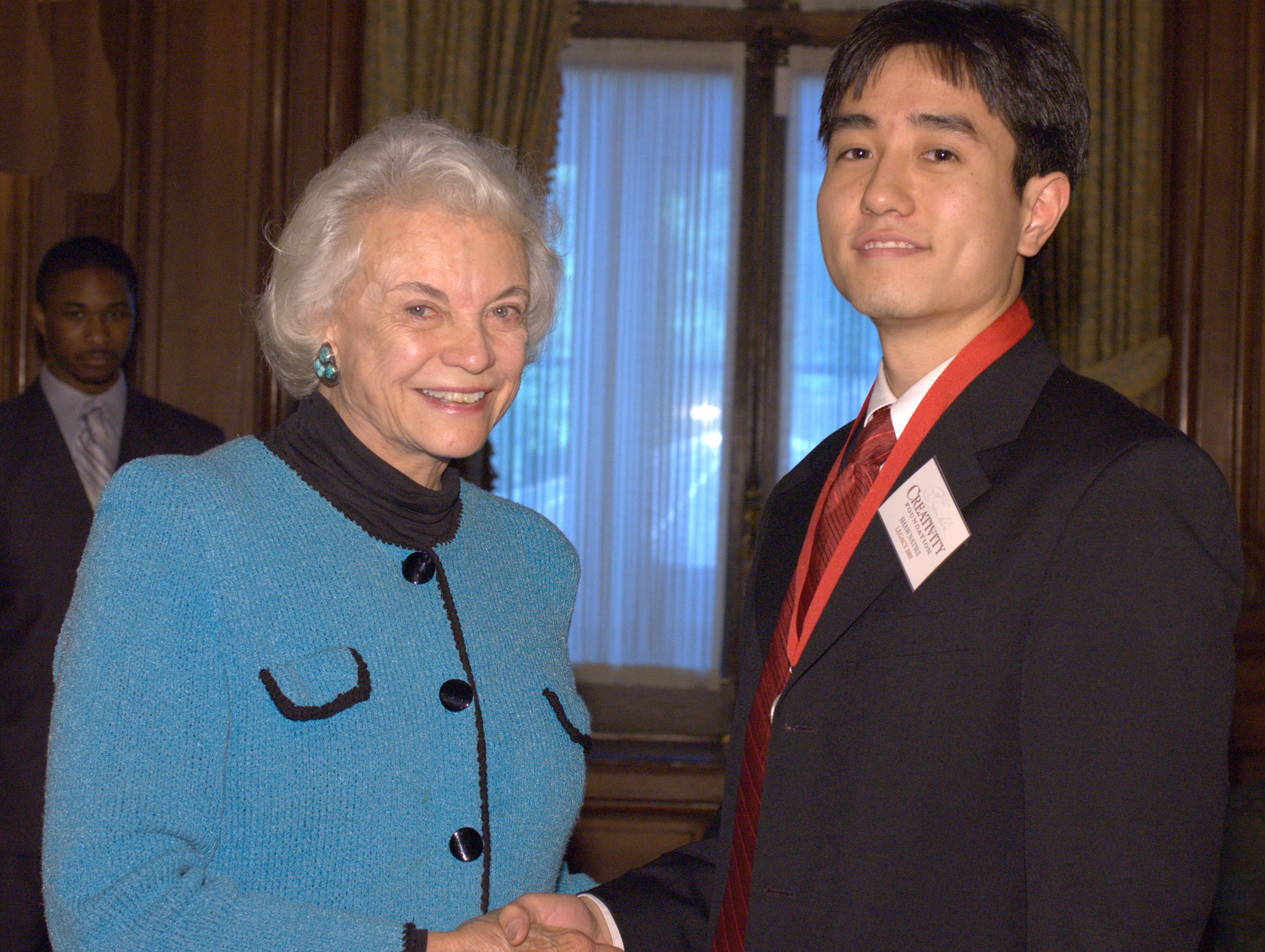 Shaw with 2005 Creativity Laureate Sandra Day O'Connor