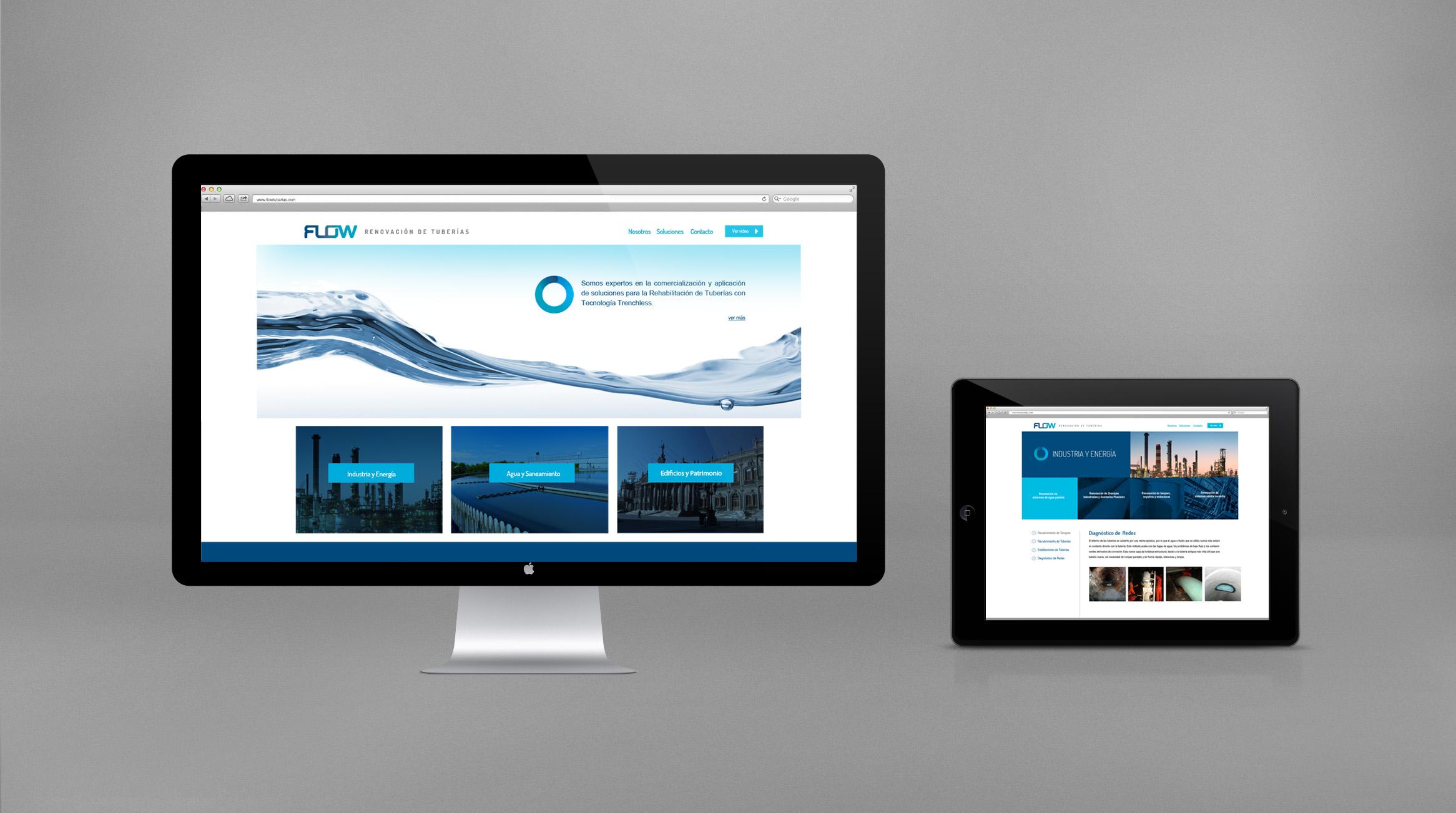 Flow paginaweb