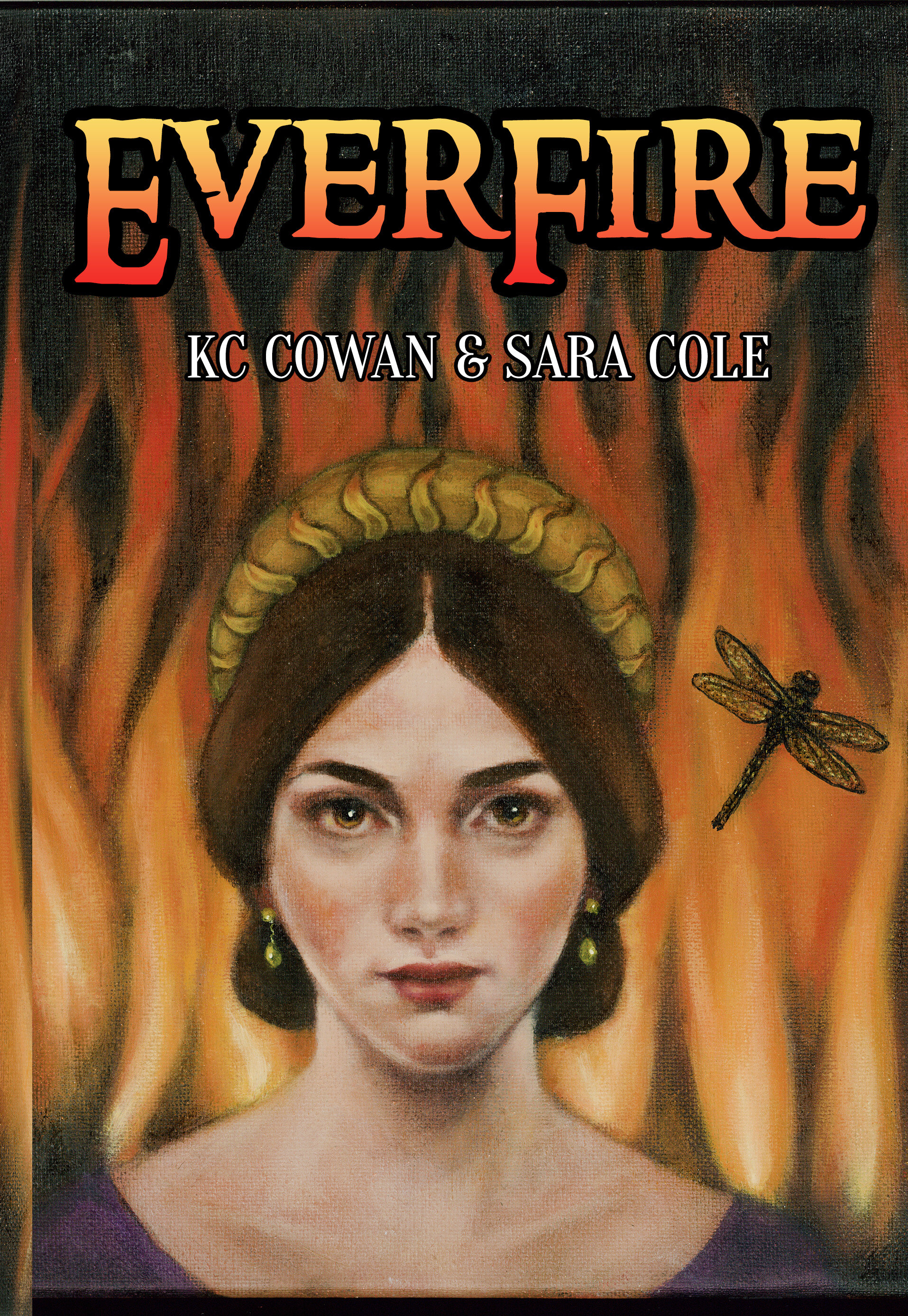 EVERFIRE is the third book in the Irene, Nan & Kay series