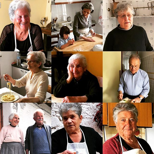 Every day is National Grandparents Day with Pasta Grannies. If you follow this account you don't need reminding to love them loads and hug them close - and share some pasta with them 😊❤️🌺 #pastagrannies #nationalgrandparentsday