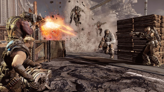 Gears of War 3 Xbox 360 Screenshot