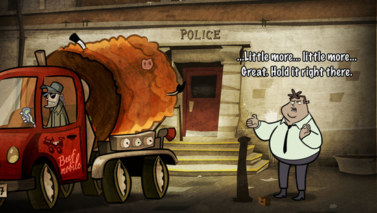 Hector Badge of Carnage Episode 2 Screenshot
