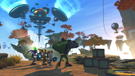 Ratchet and Clank All 4 One PS3 Screenshot