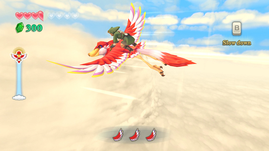 Zelda Skyward Sword Wii Screenshot