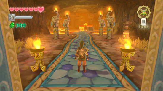Zelda Skyward Sword Wii Screenshot