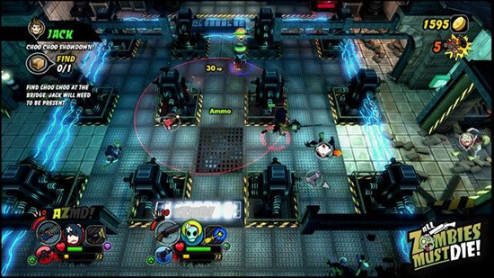 All Zombies Must Die XBLA Screenshot