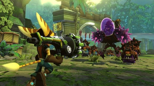 Ratchet Clank Full Frontal Assault Darkstation