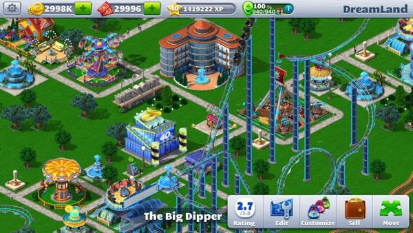 RollerCoaster Tycoon 4 Mobile — DarkStation