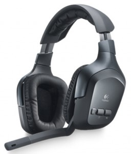 Logitech F540 Wireless Headphones for Xbox 360 and Playstation 3