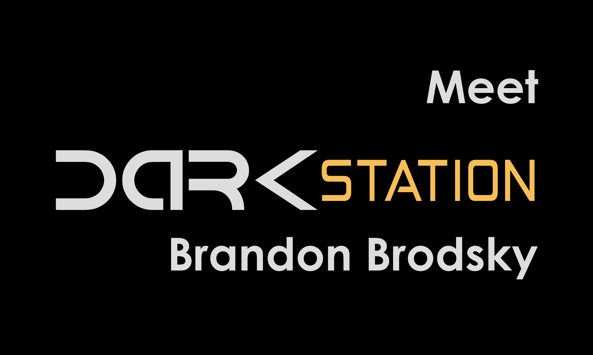 Brian and Jonathan continue talking to Darkstation's various writers. This week, Brandon Brodsky. -