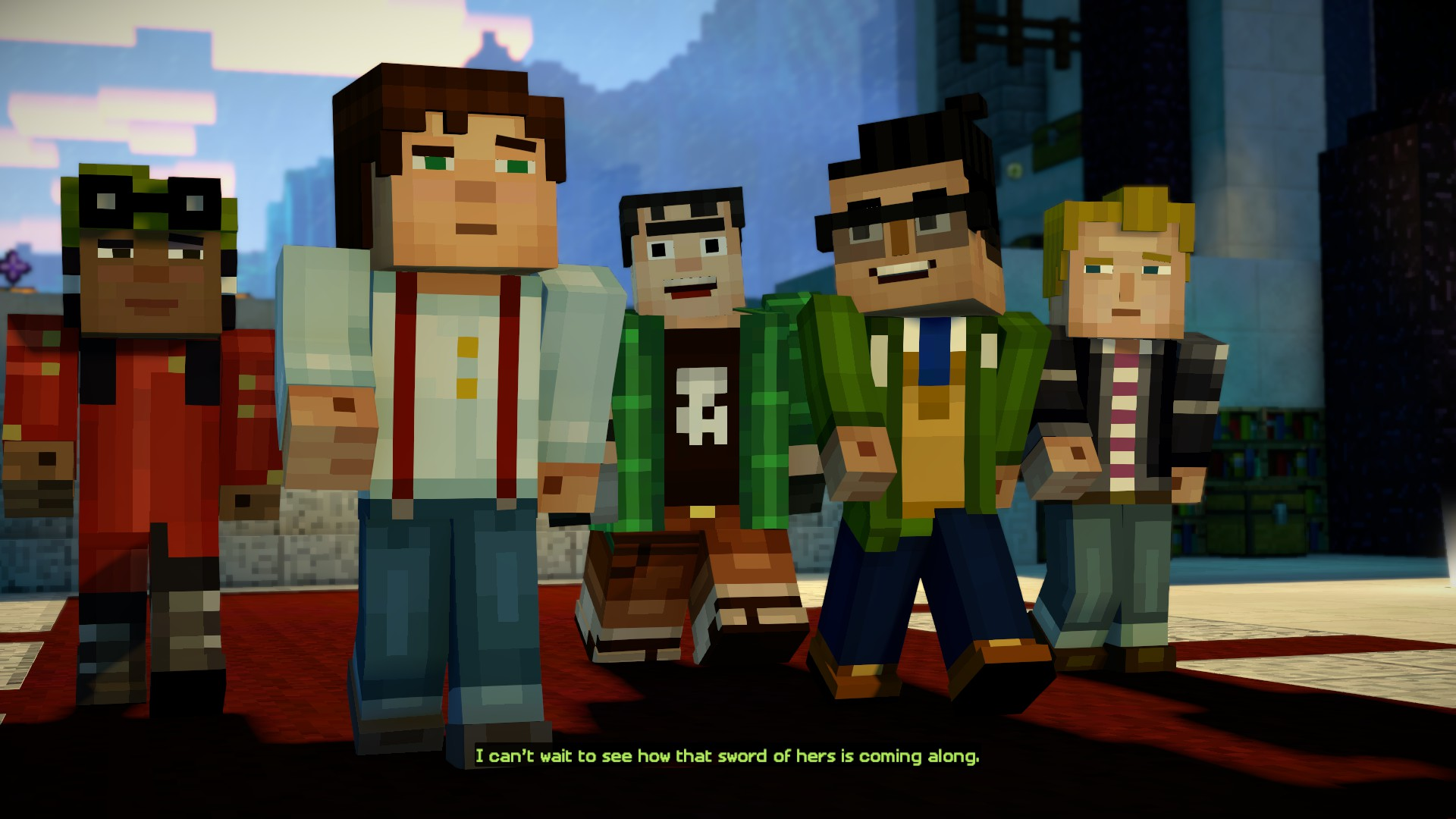 Minecraft Story Mode Season 2 Episode 1 Hero In Residence