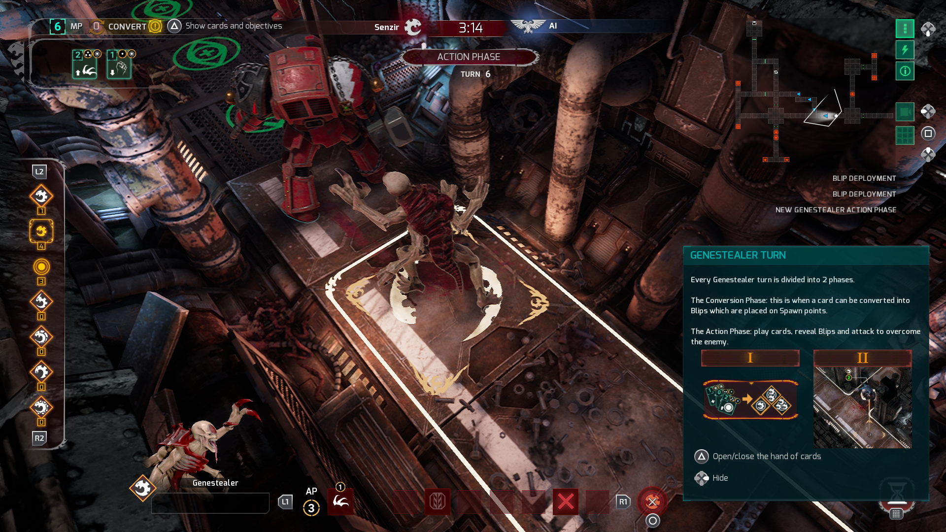 Space Hulk: Tactics Review — DarkStation