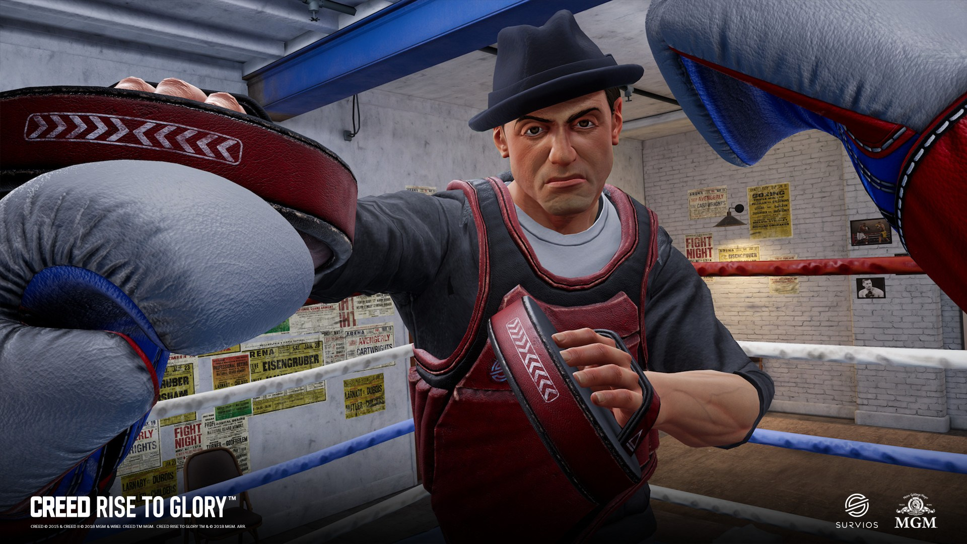 Creed: Rise to Glory is a boxing sim that can provide a decent upper body and cardio workout.