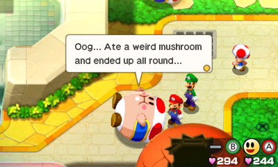 Mario Luigi Bowser S Inside Story Bowser Jr S Journey