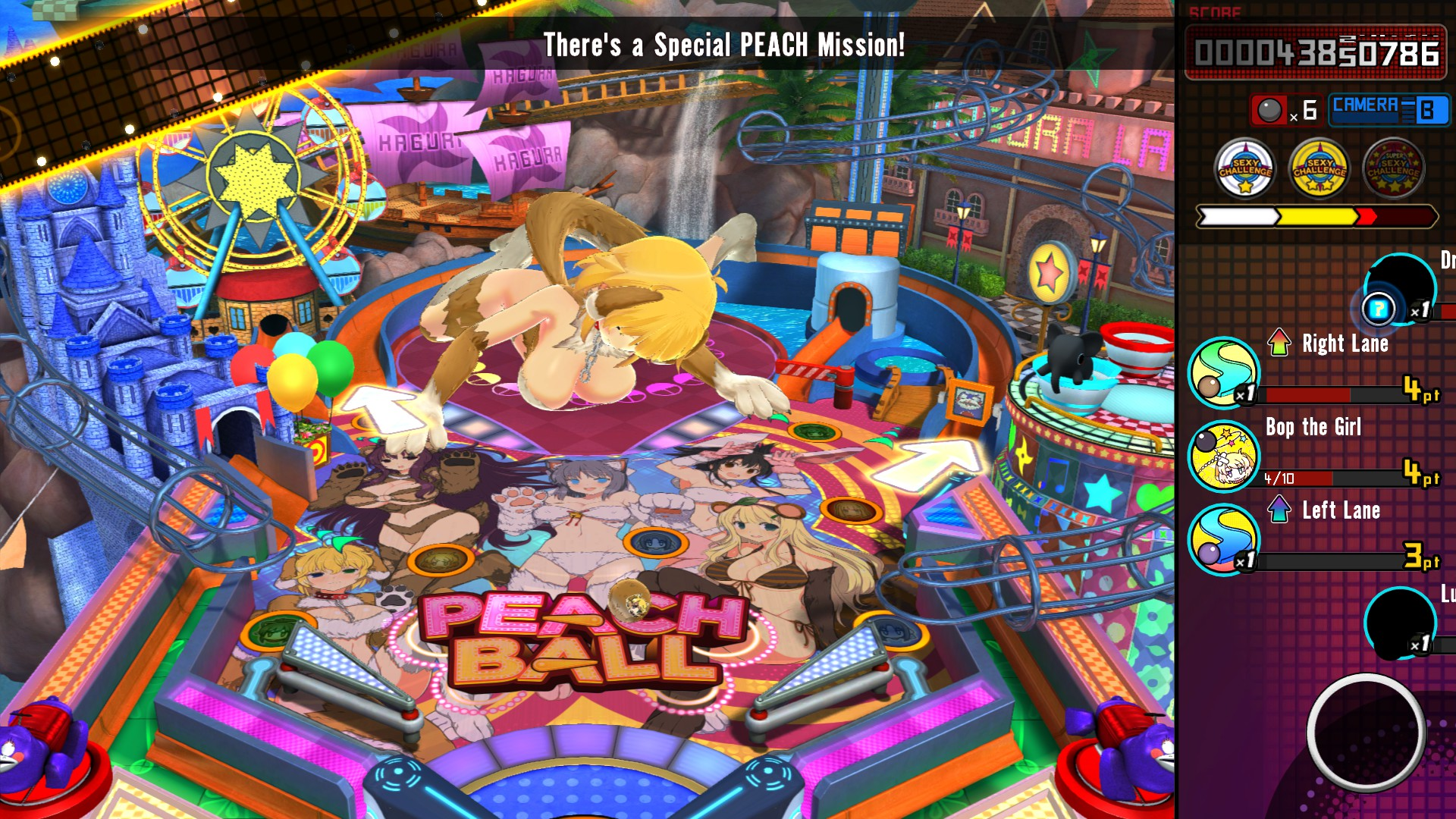 SENRAN KAGURA Peach Ball - PC_Pinball1.jpg