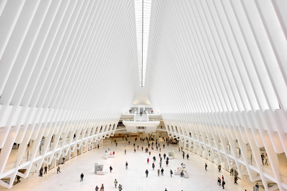 World Trade Centre by Architect Santiago Calatrava