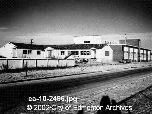 Original Association building in 1950s