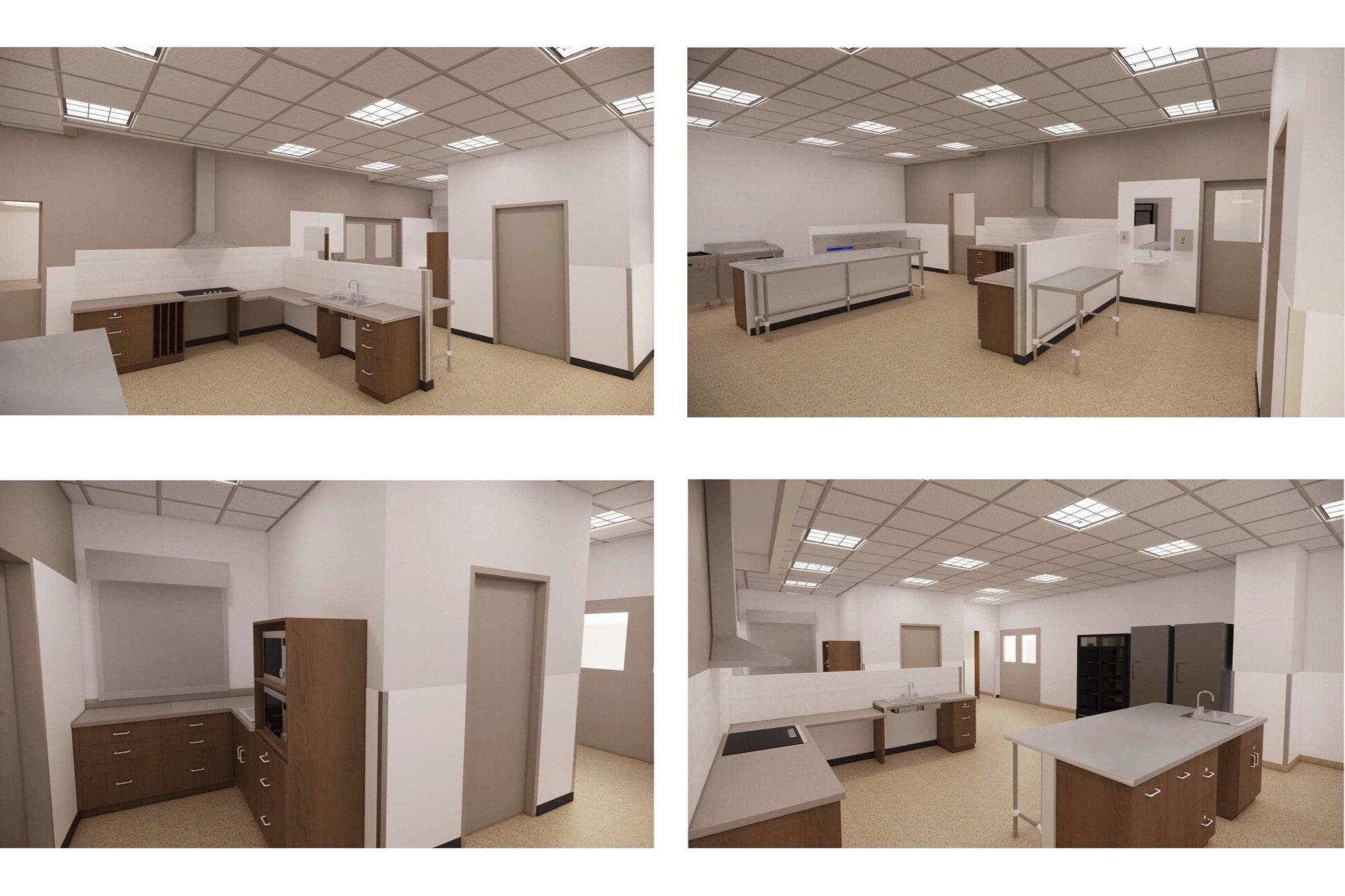 Final Kitchen 3D Design Rendering