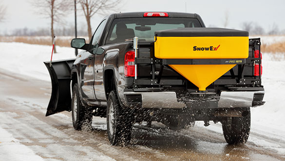 SnowEx®tailgate spreaders are available in several models