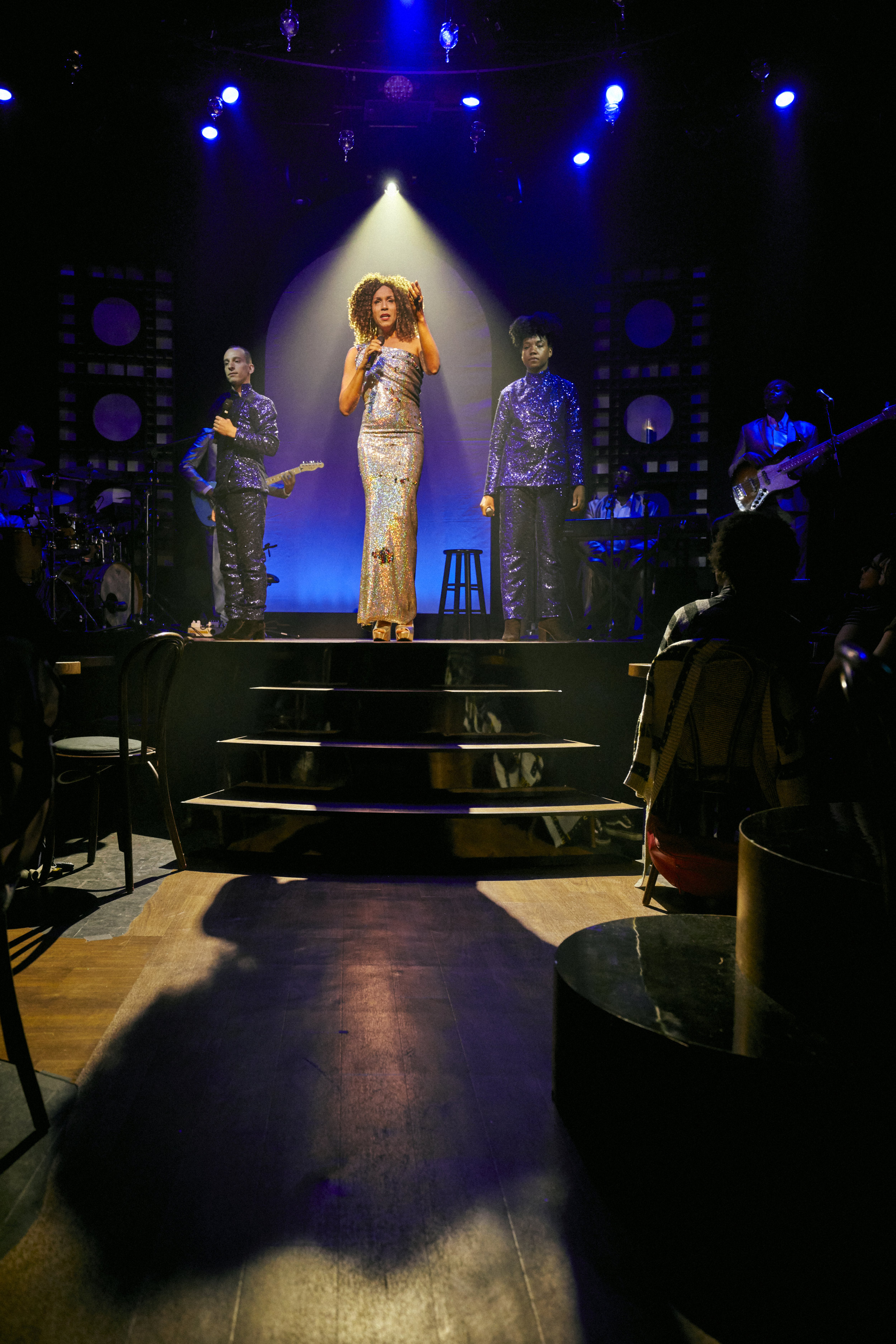 Trevor Bachman, Daniel Alexander Jones as Jomama Jones, and Krystal Hawes in BLACK LIGHT - Photo By Chad Batka.jpg