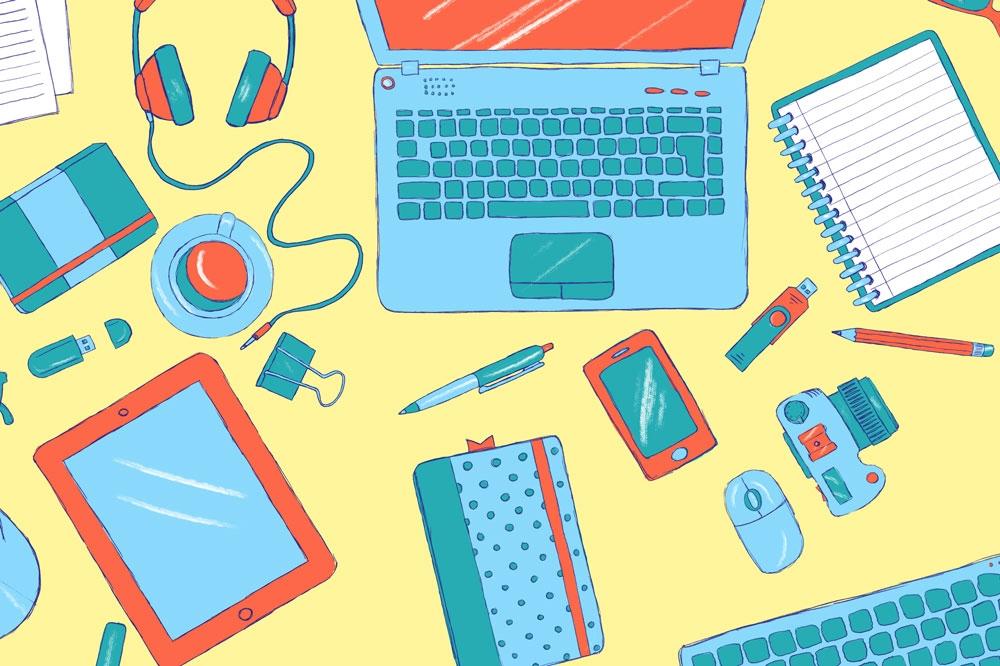 Desk theme