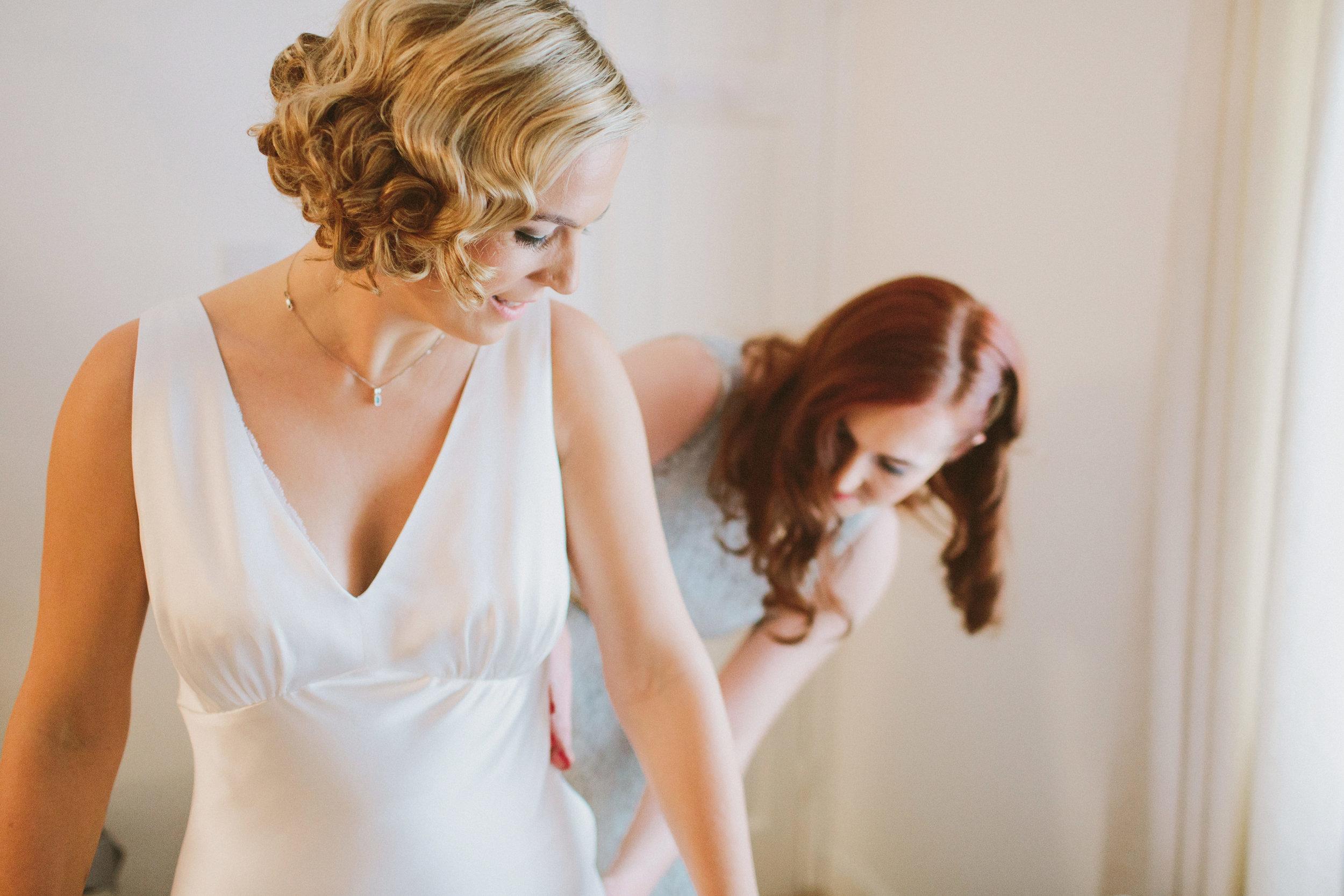 Jo-Peak-District-Autumn-Wedding-Bespoke-Vintage-Bias-Wedding-Gown-Lace-Jacket-Susanna-Greening-Matlock-5