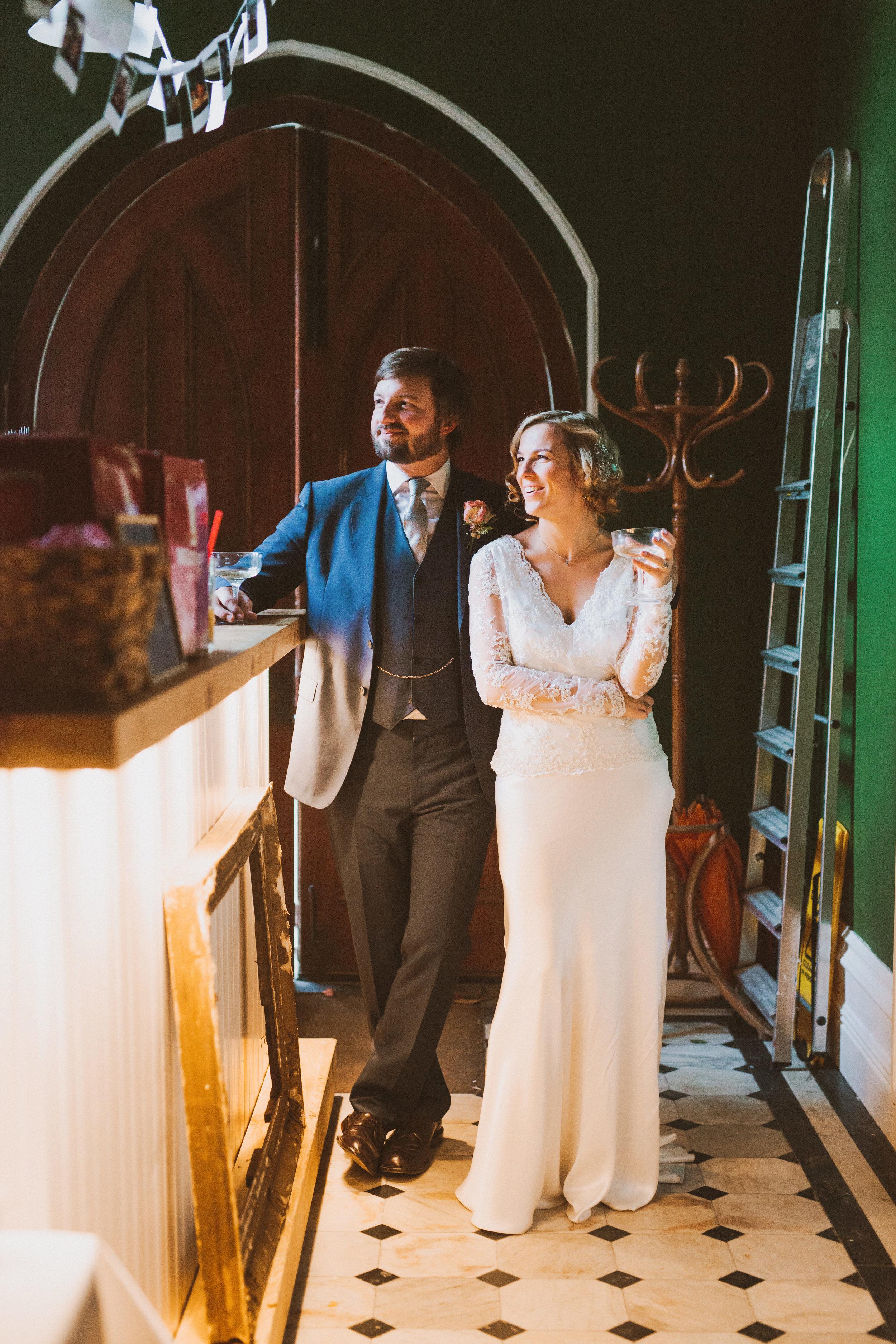 Jo-Peak-District-Autumn-Wedding-Bespoke-Vintage-Bias-Wedding-Gown-Lace-Jacket-Susanna-Greening-Matlock-14