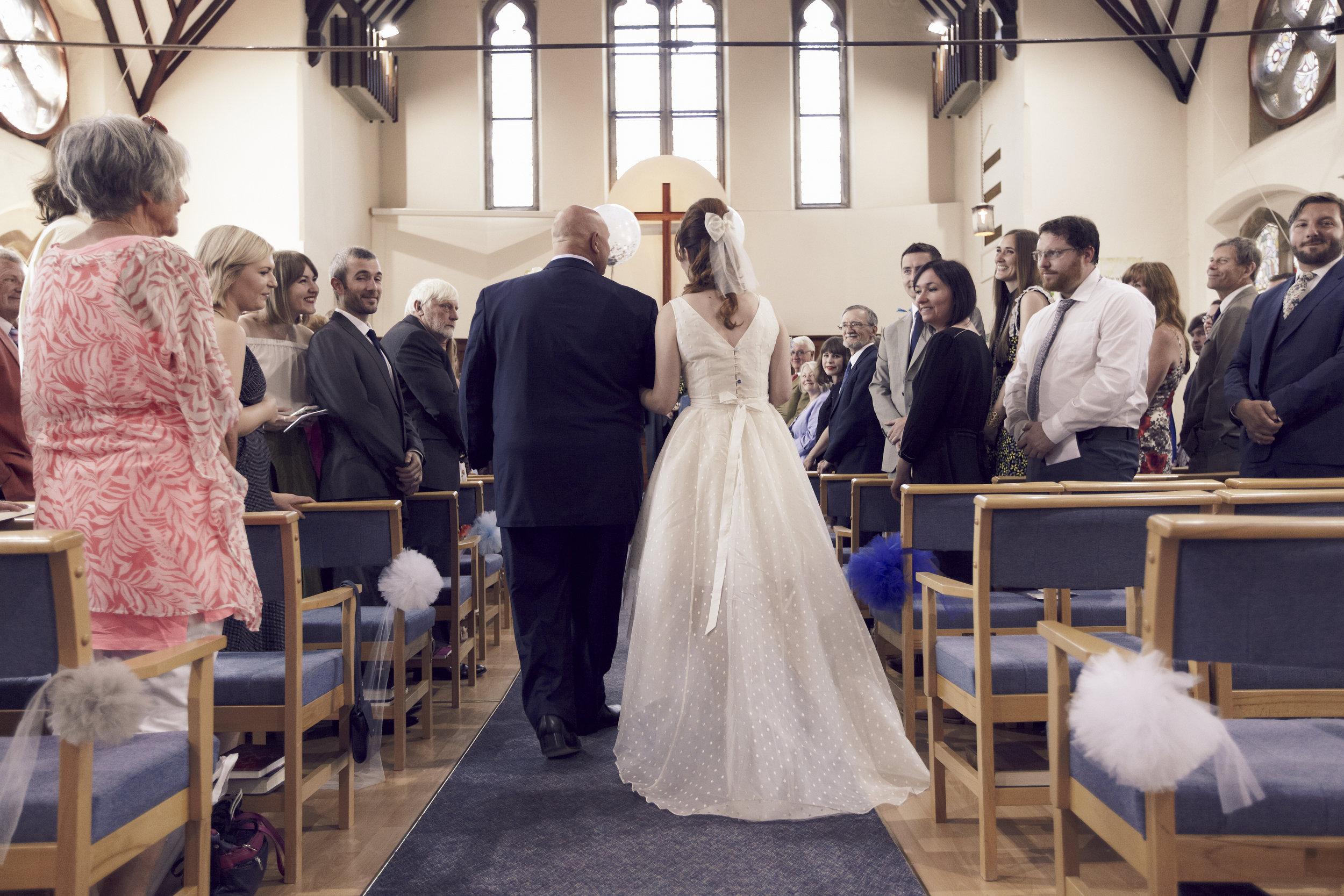Suzi-Matlock-Polka-Dot-Bespoke-Wedding-Dress-High-Low-Susanna-Greening-Designs-Derbyshire-9