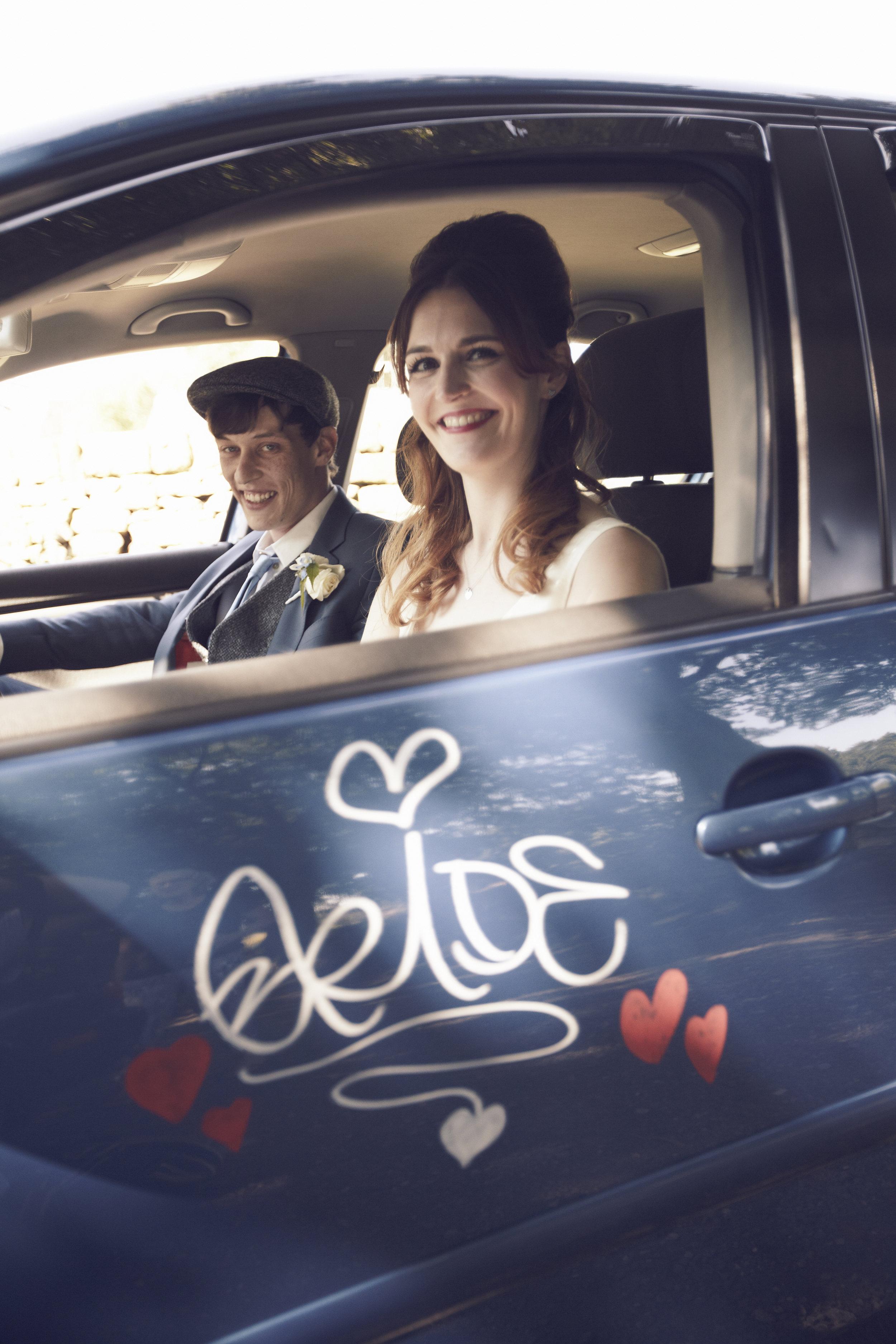 Suzi-Matlock-Polka-Dot-Bespoke-Wedding-Dress-High-Low-Susanna-Greening-Designs-Derbyshire-13