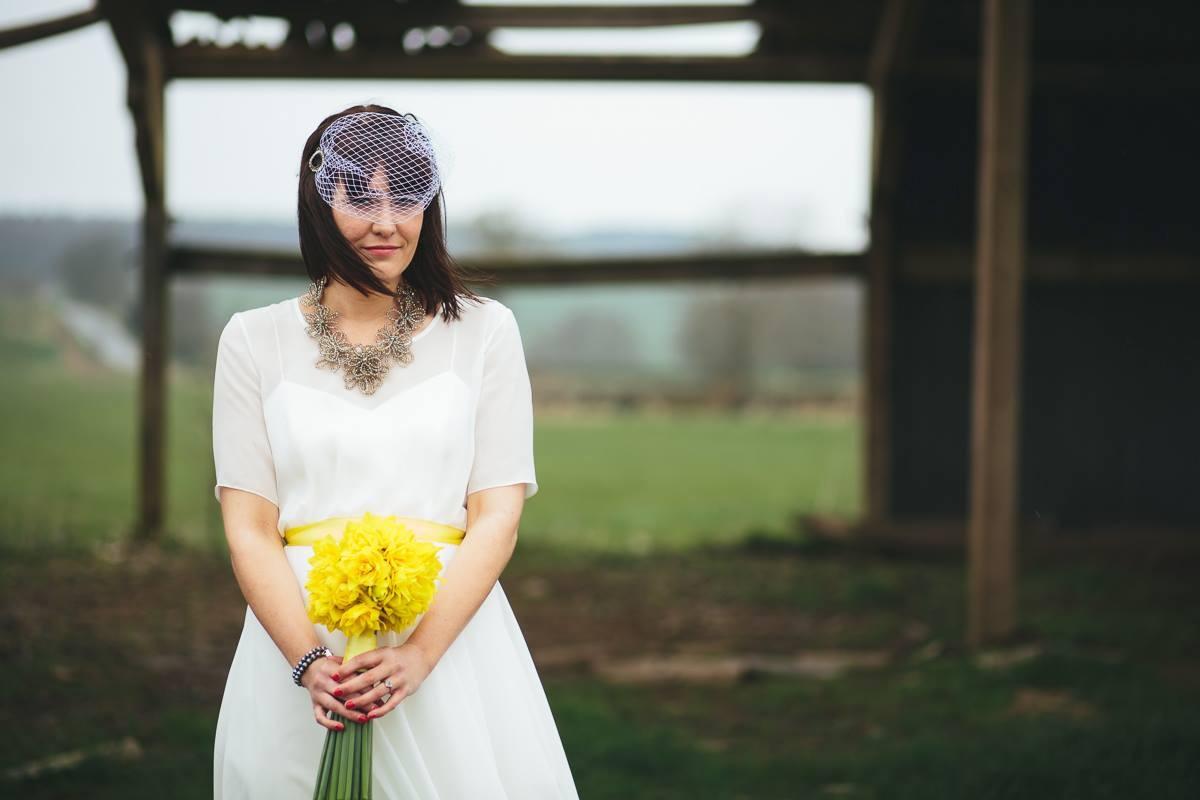 Sophie-Matlock-Bespoke-Vintage-Tea-Length-Wedding-Dress-Susanna-Greening-Derbyshire-8