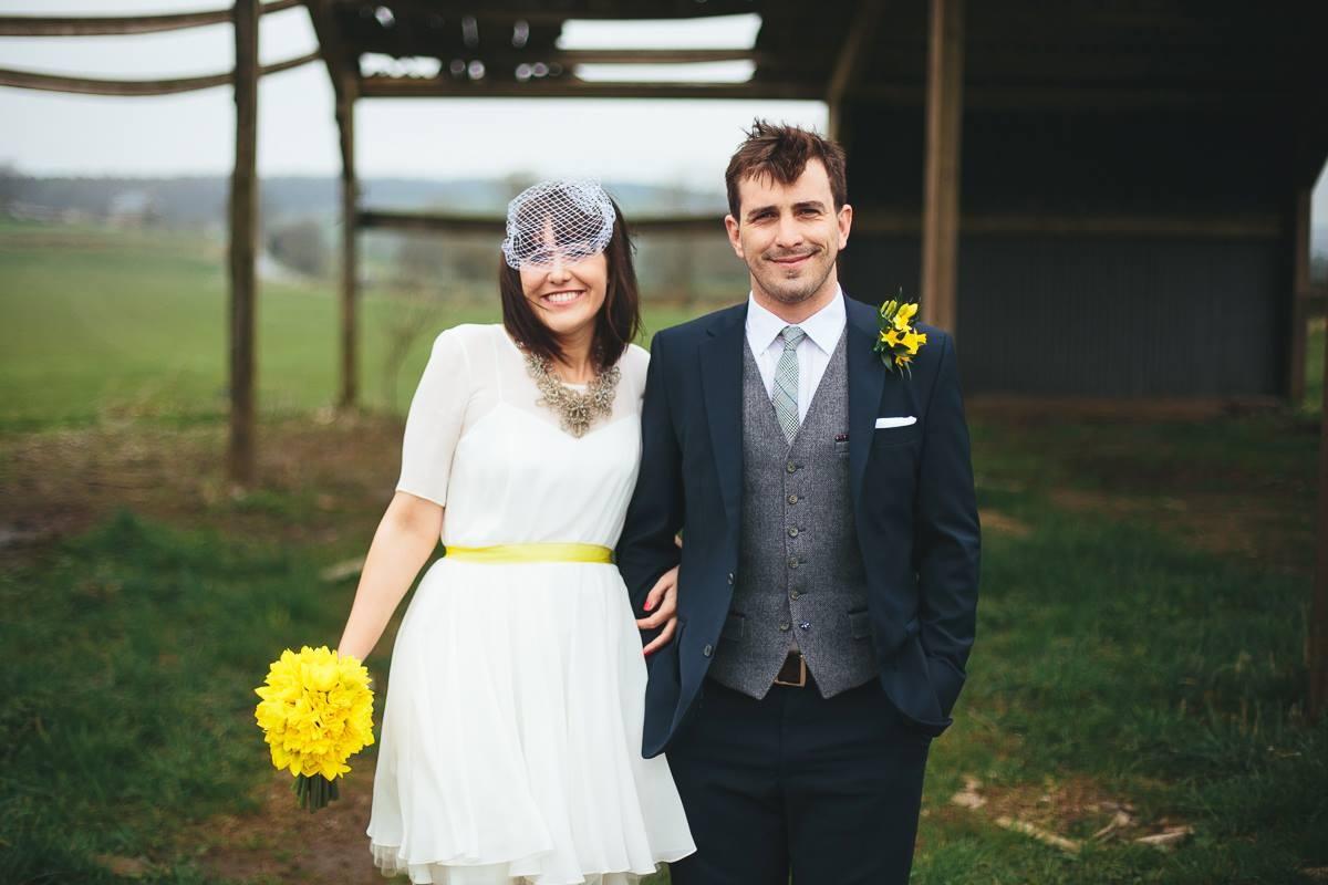 Sophie-Matlock-Bespoke-Vintage-Tea-Length-Wedding-Dress-Susanna-Greening-Derbyshire-9