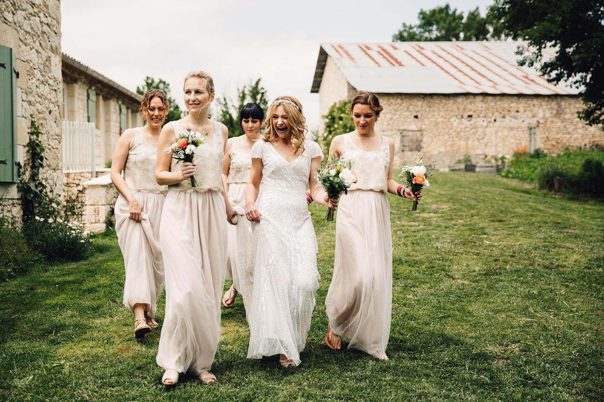 Hannah-Bespoke-Bridesmaids-Bohemian-French-Wedding-Gold-Lace-Susanna-Greening-Designs-Matlock-Derbyshire-4