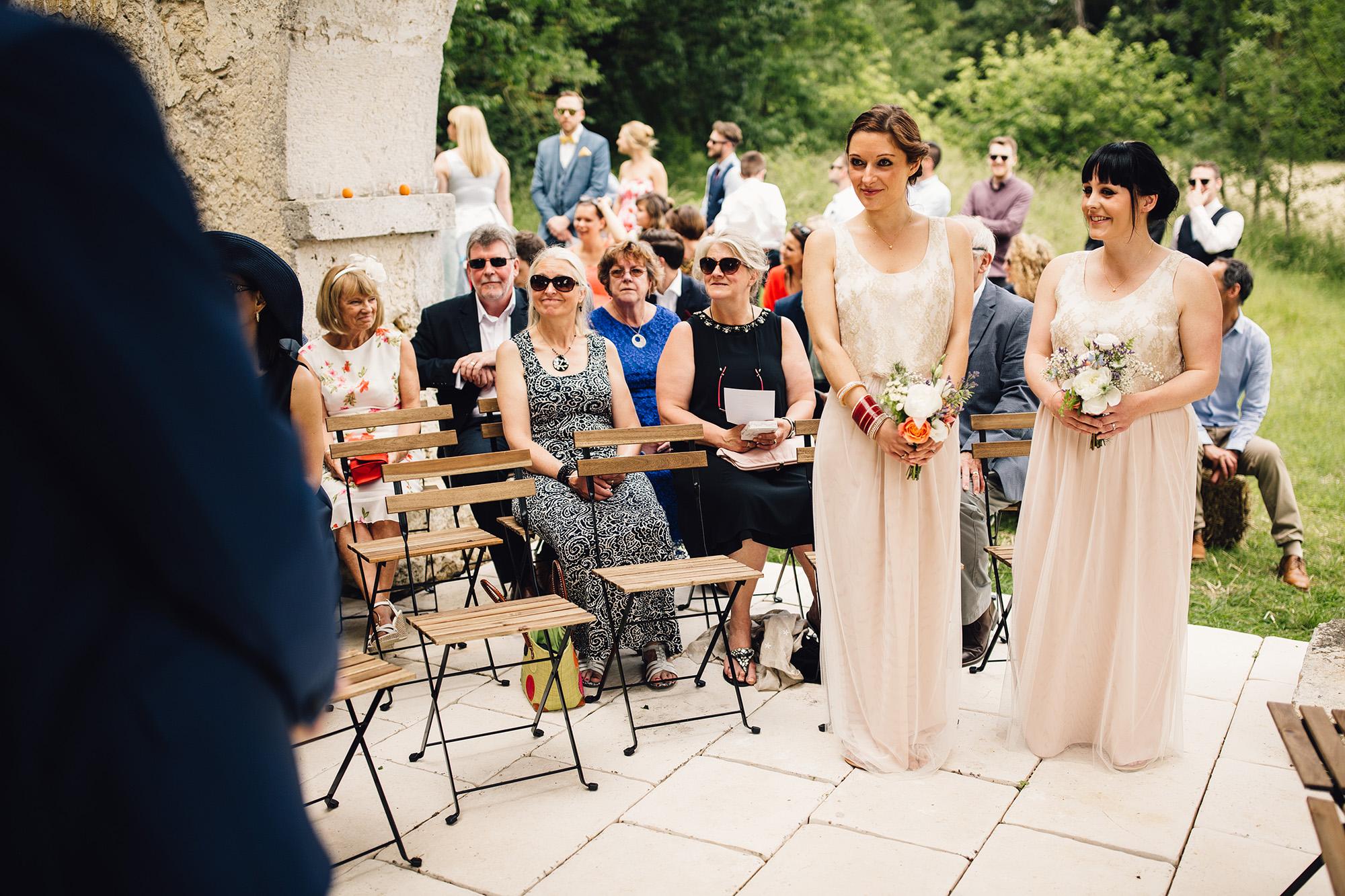 Hannah-Bespoke-Bridesmaids-Bohemian-French-Wedding-Gold-Lace-Susanna-Greening-Designs-Matlock-Derbyshire-10