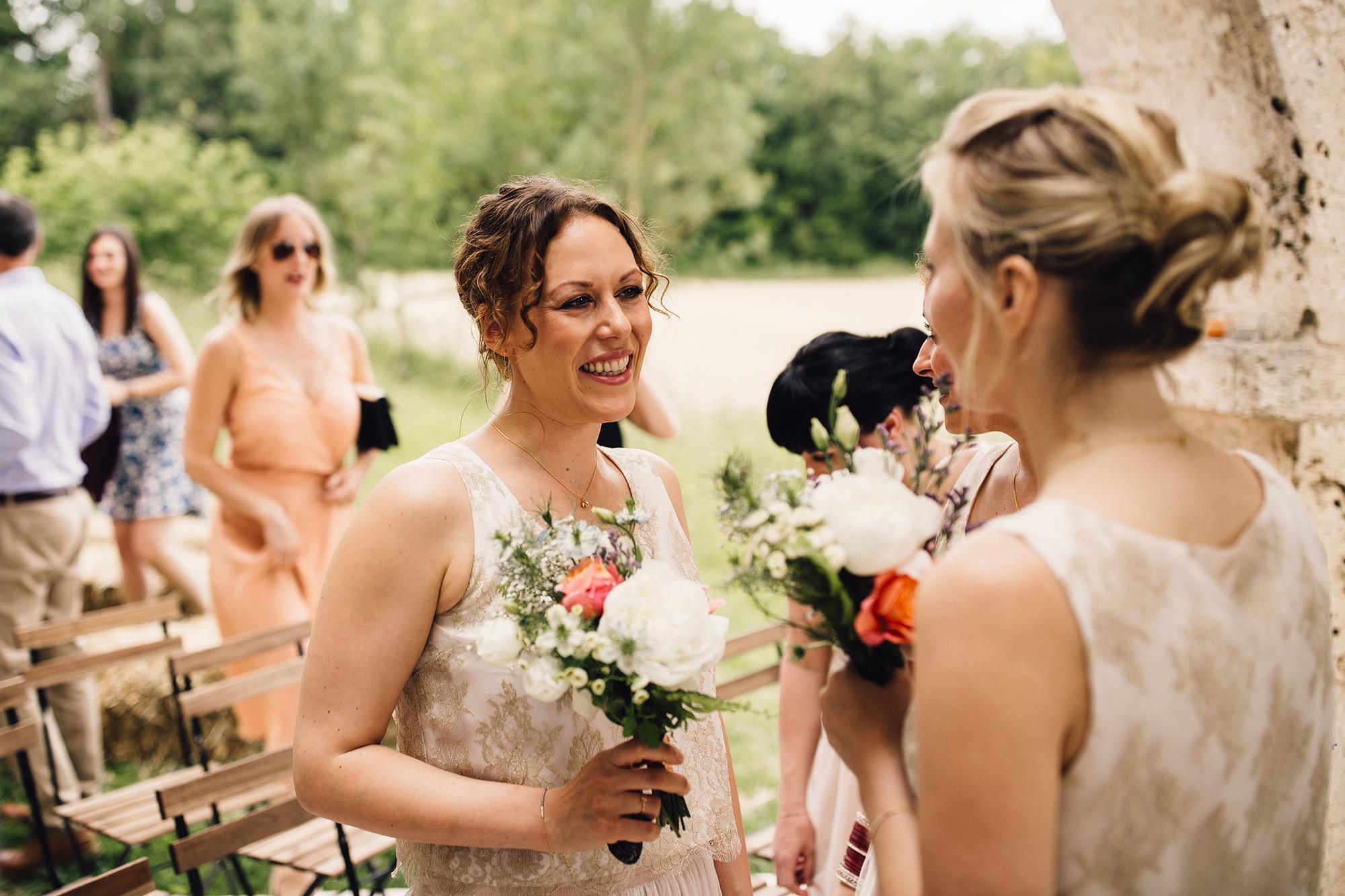 Hannah-Bespoke-Bridesmaids-Bohemian-French-Wedding-Gold-Lace-Susanna-Greening-Designs-Matlock-Derbyshire-14