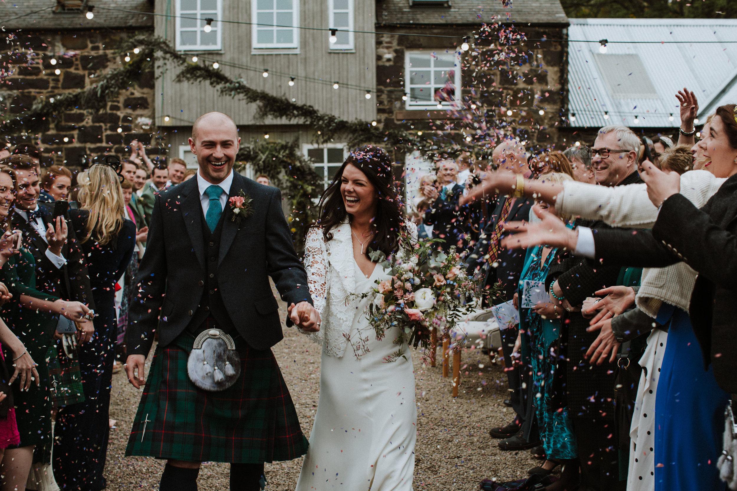 Katt-Scotland-Comrie-Crieff-Bias-Crepe-Wedding-Gown-Lace-Bridal-Biker-Jacket-Bespoke-Susanna-Greening-Derbyshire-15