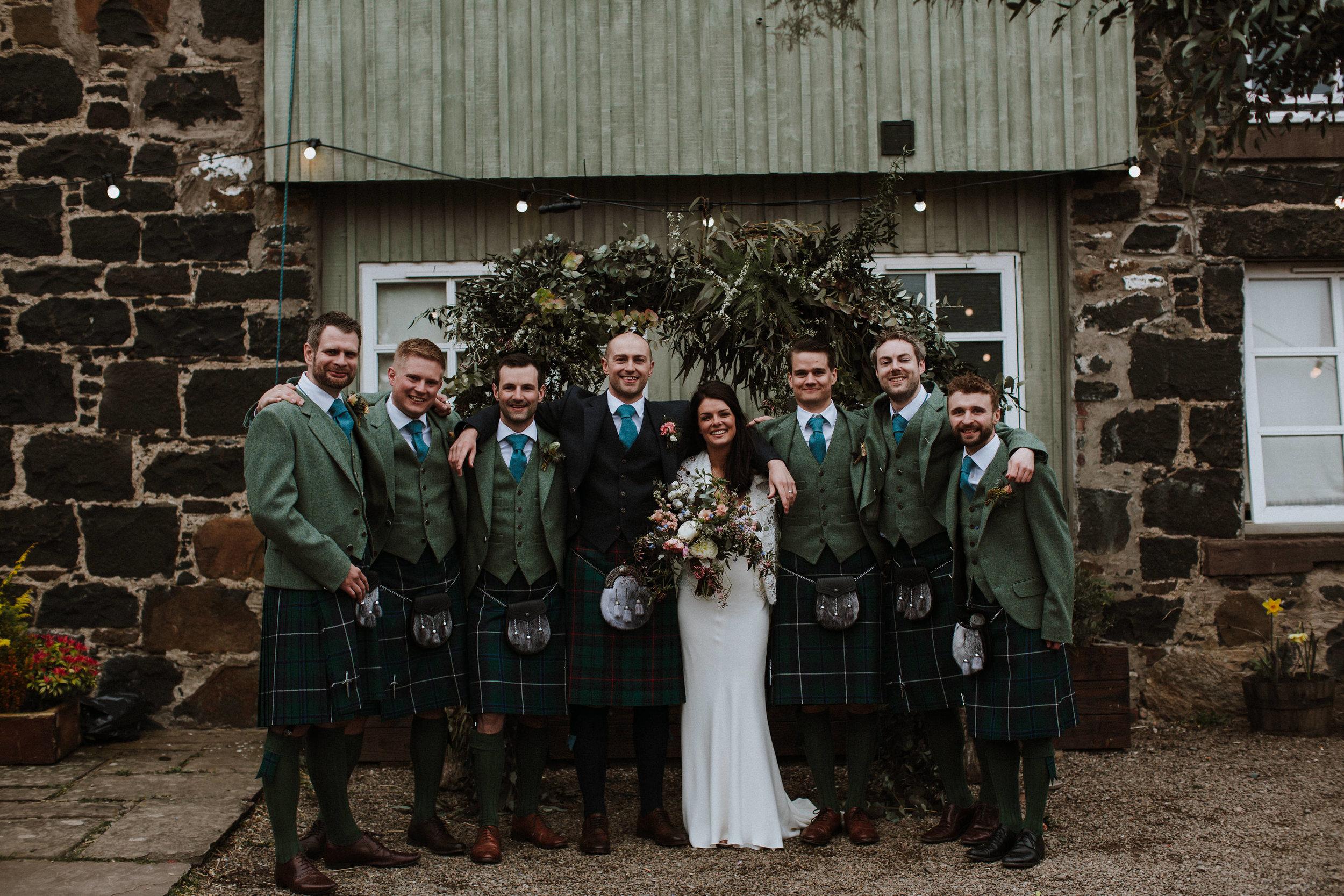 Katt-Scotland-Comrie-Crieff-Bias-Crepe-Wedding-Gown-Lace-Bridal-Biker-Jacket-Bespoke-Susanna-Greening-Derbyshire-17