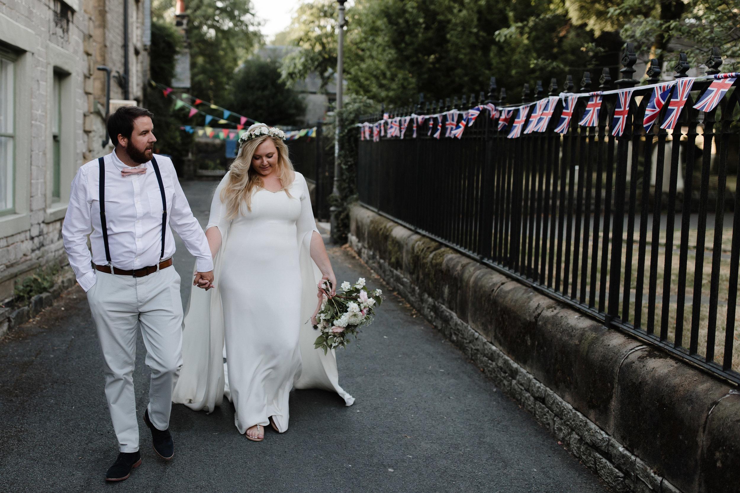 Lauren-Peak-District-Bespoke-Wedding-Gown-Petal-Veil-Train-Long-Sleeve-Susanna-Greening-Designs-Matlock-Derbyshire-2