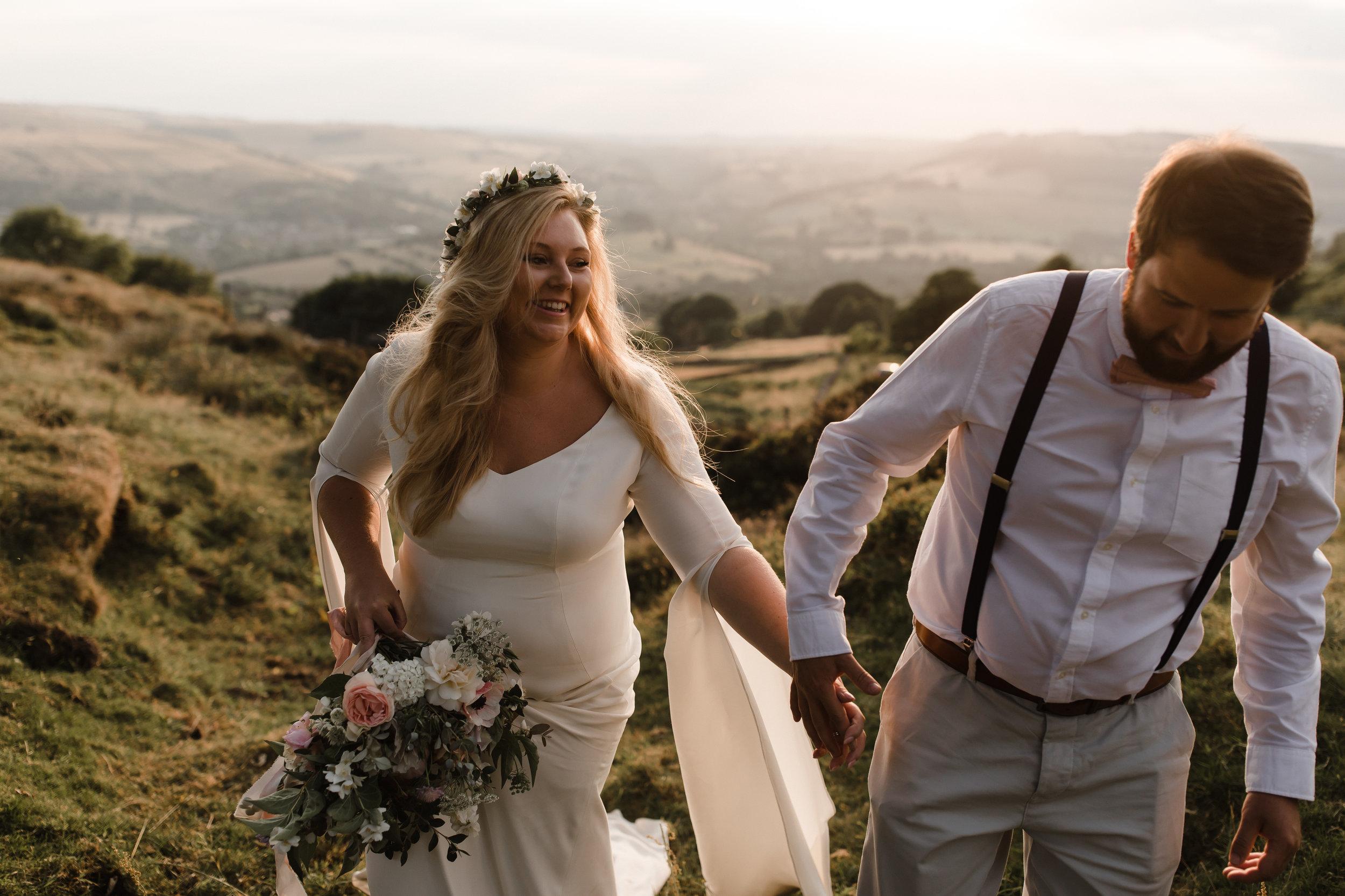 Lauren-Peak-District-Bespoke-Wedding-Gown-Petal-Veil-Train-Long-Sleeve-Susanna-Greening-Designs-Matlock-Derbyshire-20