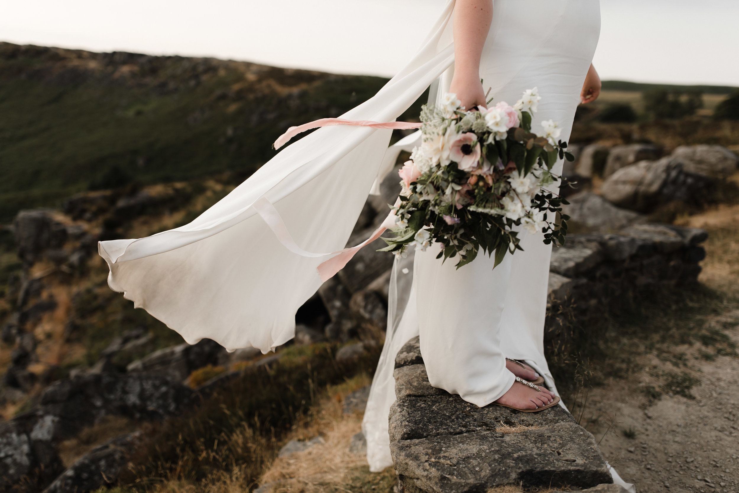 Lauren-Peak-District-Bespoke-Wedding-Gown-Petal-Veil-Train-Long-Sleeve-Susanna-Greening-Designs-Matlock-Derbyshire-22
