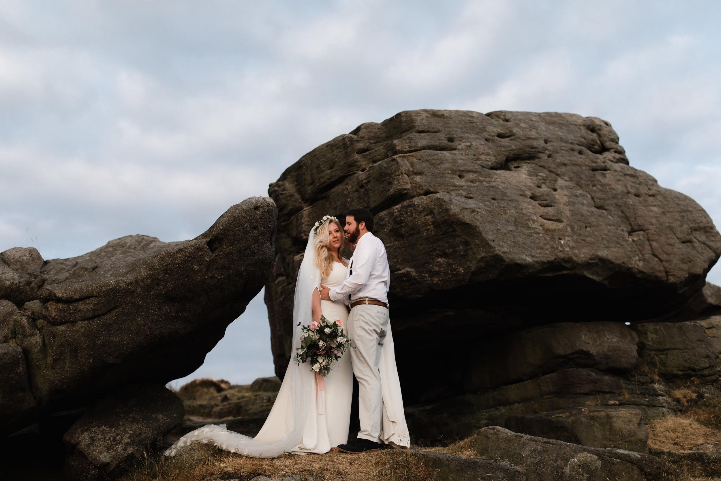 Lauren-Peak-District-Bespoke-Wedding-Gown-Petal-Veil-Train-Long-Sleeve-Susanna-Greening-Designs-Matlock-Derbyshire-23