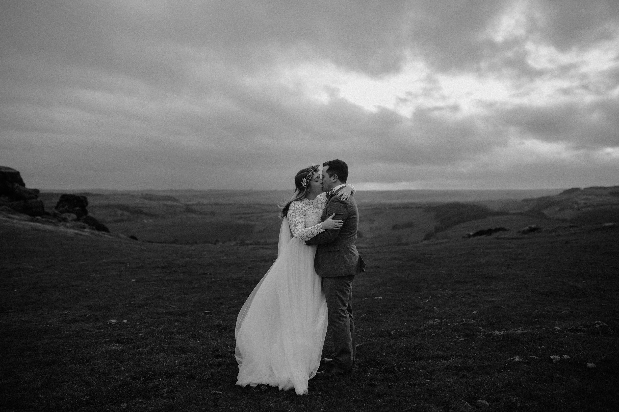 Rosie-peak district-bride-bespoke-long sleeved-lace-tulle-winter-wedding-dress-matlock-susanna-greening-3