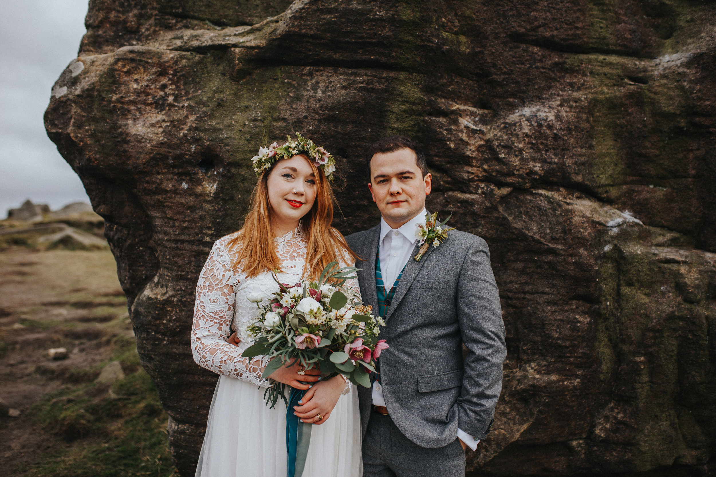 Rosie-peak district-bride-bespoke-long sleeved-lace-tulle-winter-wedding-dress-matlock-susanna-greening-6