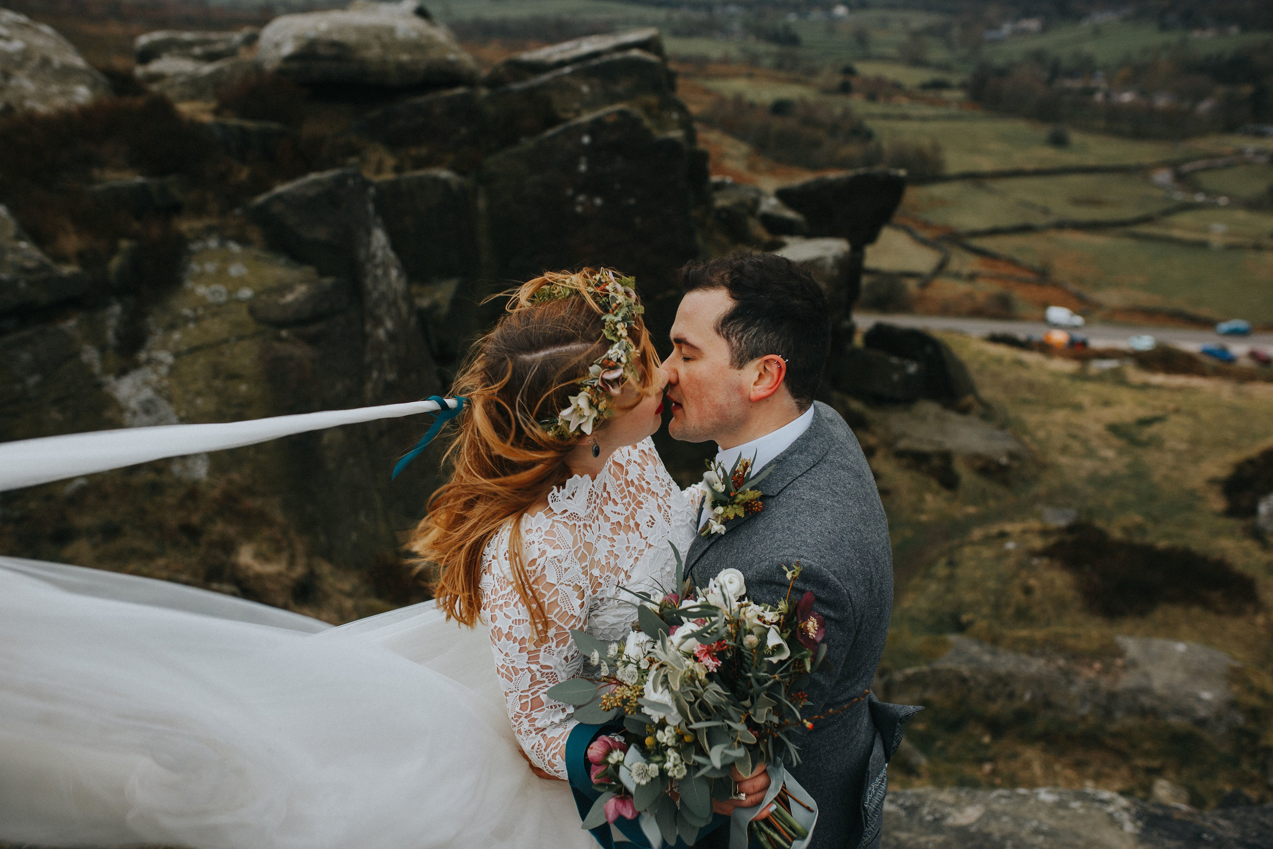 Rosie-peak district-bride-bespoke-long sleeved-lace-tulle-winter-wedding-dress-matlock-susanna-greening-17