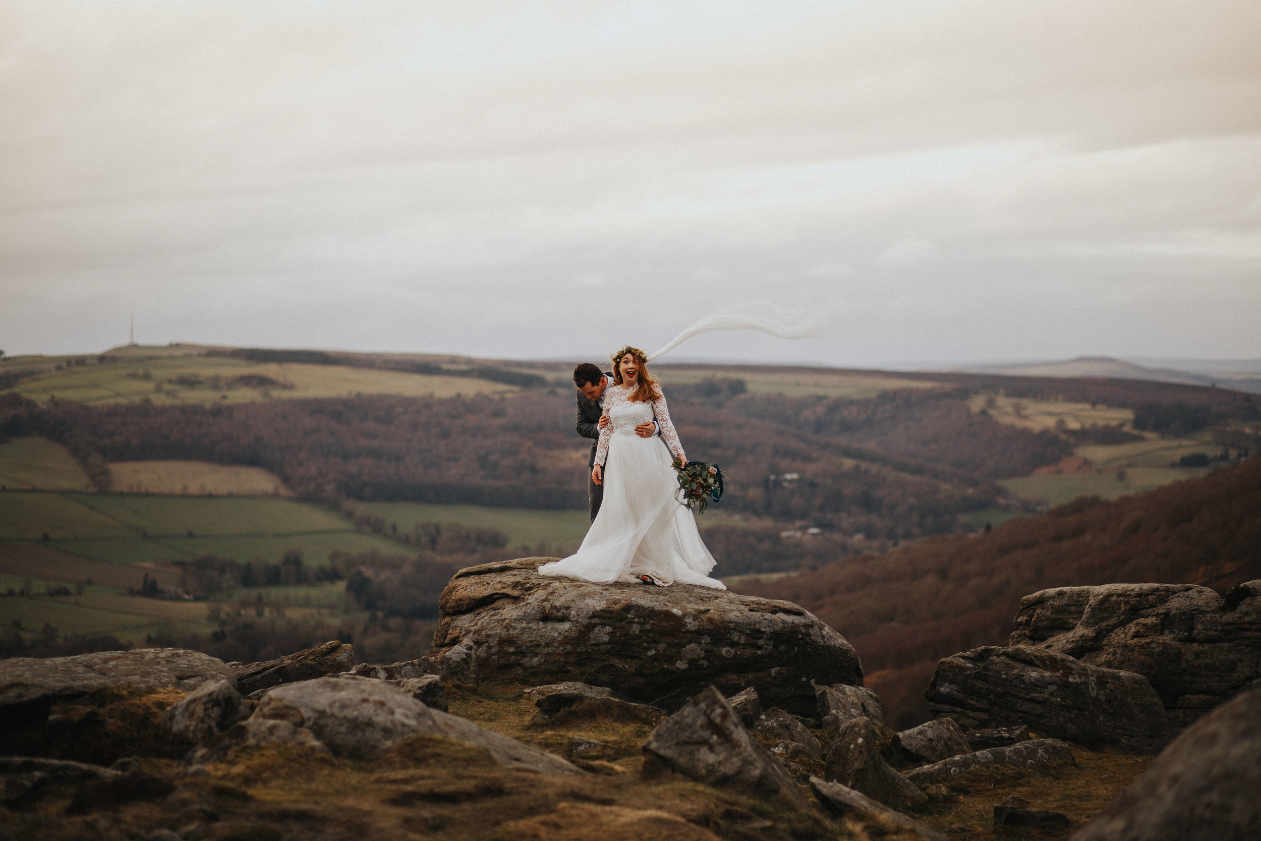 Rosie-peak district-bride-bespoke-long sleeved-lace-tulle-winter-wedding-dress-matlock-susanna-greening-19