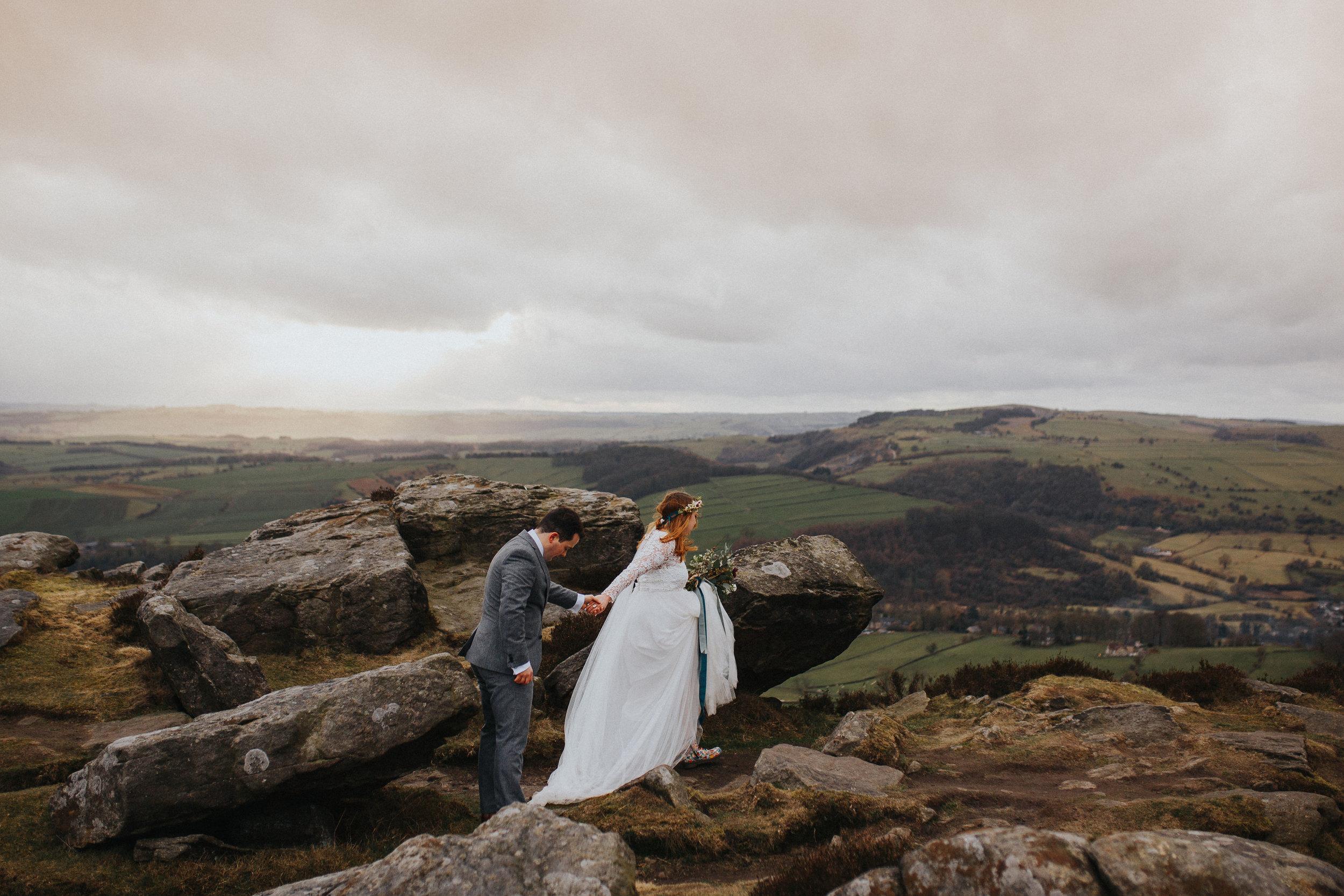 Rosie-bespoke-lace-long sleeved-tulle-wedding-dress-winter-peak district-susanna greening-18.jpg