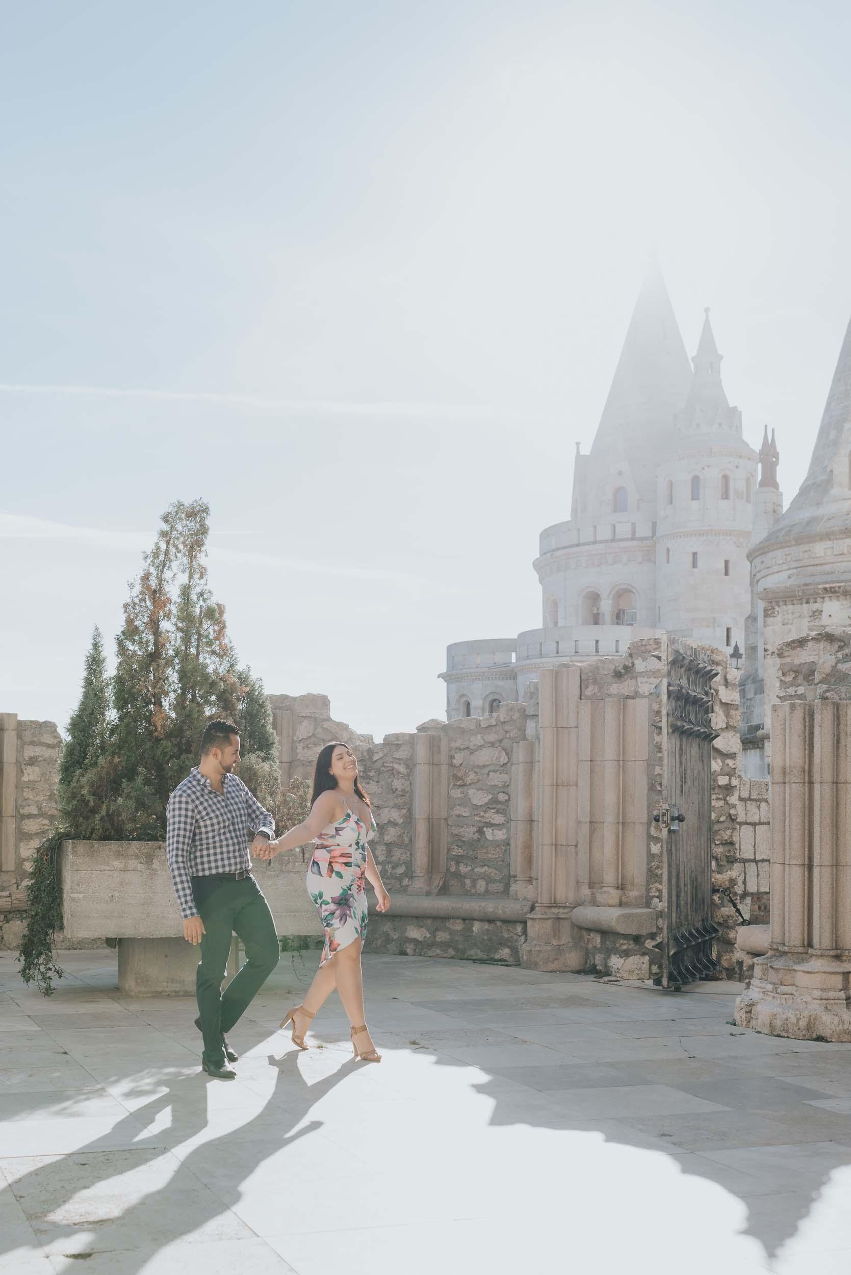 Budapest engagement photography
