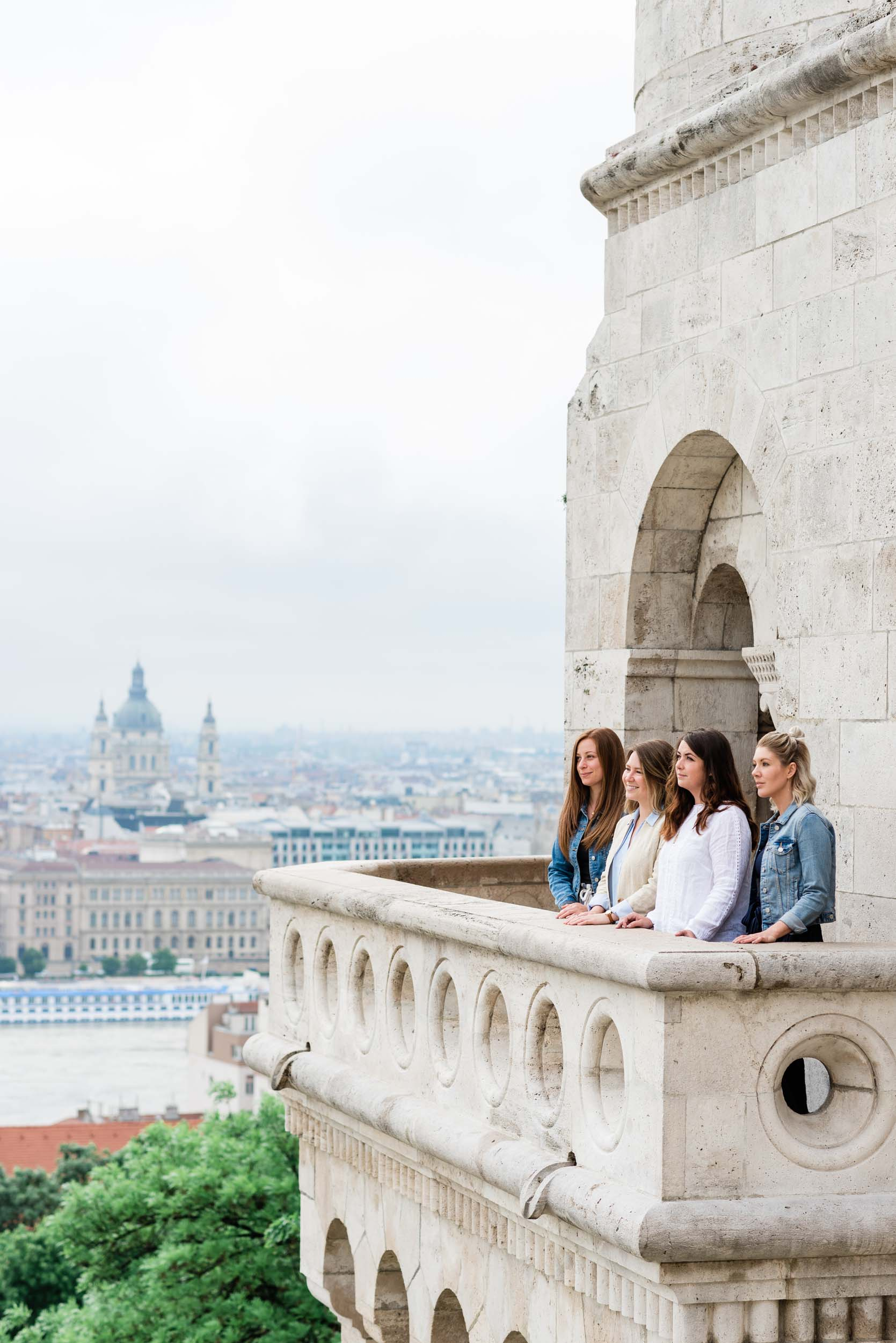 Budapest friends travel