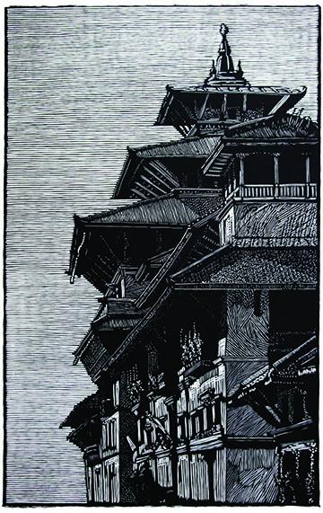 Richard Wagener, Dubar Square, Patan