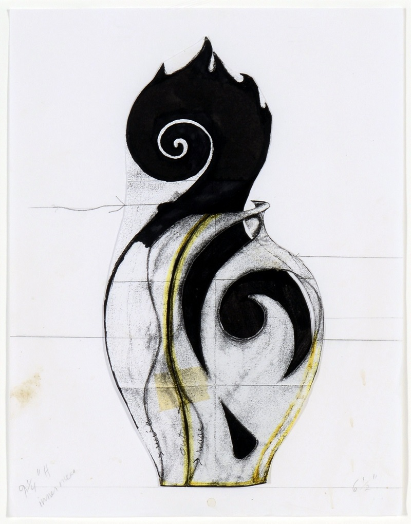 Christine Nofchissey McHorse, Untitled Drawing (Spontaneous Combustion), 2011